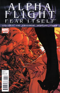 Cover Thumbnail for Alpha Flight (Marvel, 2011 series) #4 [Phil Jiminez Standard Cover]