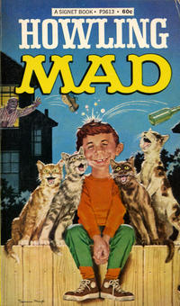 Cover Thumbnail for Howling Mad (New American Library, 1967 series) #P3613