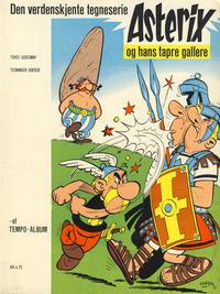Cover Thumbnail for Asterix (Hjemmet / Egmont, 1969 series) #1 - Asterix og hans tapre gallere [1. opplag]