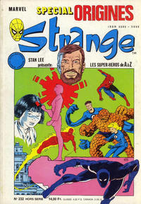 Cover Thumbnail for Strange Spécial Origines (Semic S.A., 1989 series) #232 hors série