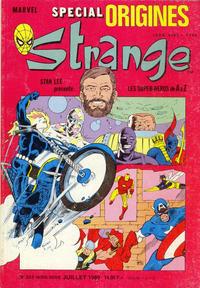 Cover Thumbnail for Strange Spécial Origines (Semic S.A., 1989 series) #235 hors série