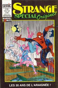 Cover Thumbnail for Strange Spécial Origines (Semic S.A., 1989 series) #280 hors série