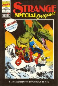 Cover Thumbnail for Strange Spécial Origines (Semic S.A., 1989 series) #308