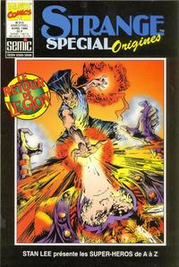 Cover Thumbnail for Strange Spécial Origines (Semic S.A., 1989 series) #310