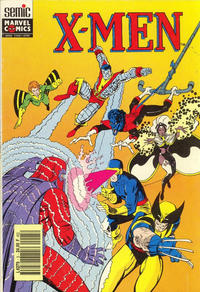 Cover Thumbnail for X-Men Saga (Semic S.A., 1990 series) #5