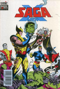 Cover Thumbnail for X-Men Saga (Semic S.A., 1990 series) #12