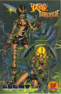 Cover Thumbnail for Painkiller Jane / Darkchylde (Event Comics, 1998 series) #1 [Dynamic Forces Exclusive Omnichrome Edition]