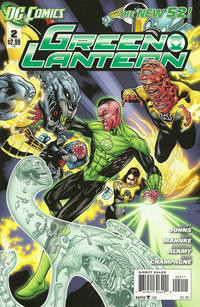 Cover Thumbnail for Green Lantern (DC, 2011 series) #2 [Direct Sales]