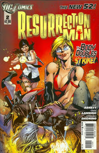 Cover Thumbnail for Resurrection Man (DC, 2011 series) #2