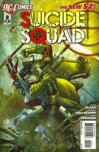 Cover Thumbnail for Suicide Squad (DC, 2011 series) #2