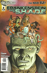Cover Thumbnail for Frankenstein, Agent of S.H.A.D.E. (DC, 2011 series) #2