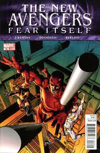 Cover Thumbnail for New Avengers (Marvel, 2010 series) #16 [Mike Deodato Jr. cover]