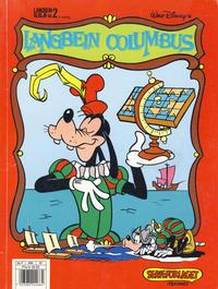 Cover Thumbnail for Langbein album (Hjemmet / Egmont, 1977 series) #2 - Langbein Columbus [2. opplag]