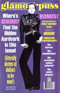 Cover for glamourpuss (Aardvark-Vanaheim, 2008 series) #21