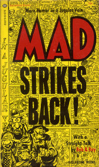 Cover Thumbnail for Mad Strikes Back (Ballantine Books, 1955 series) #03373-6