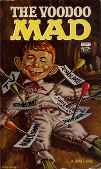 Cover Thumbnail for The Voodoo Mad (New American Library, 1963 series) #P3521