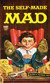 Cover Thumbnail for The Self-Made Mad (New American Library, 1964 series) #P3716