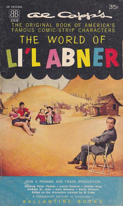 Cover for The World of Li'l Abner (Ballantine Books, 1952 series) #350K