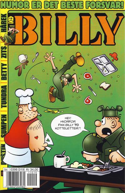 Cover for Billy (Hjemmet / Egmont, 1998 series) #19/2011