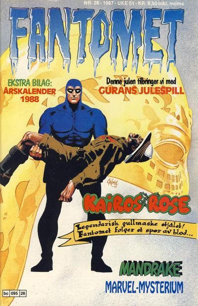 Cover for Fantomet (Semic, 1976 series) #26/1987