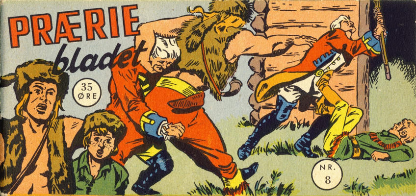 Cover for Præriebladet (Serieforlaget / Se-Bladene / Stabenfeldt, 1957 series) #8/1957