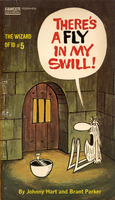 Cover for There's a Fly in My Swill! (Gold Medal Books, 1973 series) #5 (R2694)