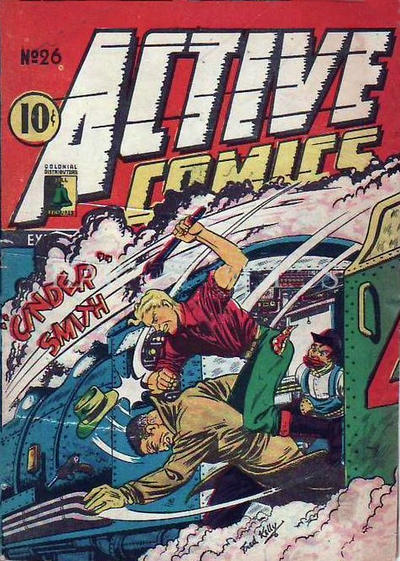 Cover for Active Comics (Bell Features, 1942 series) #26