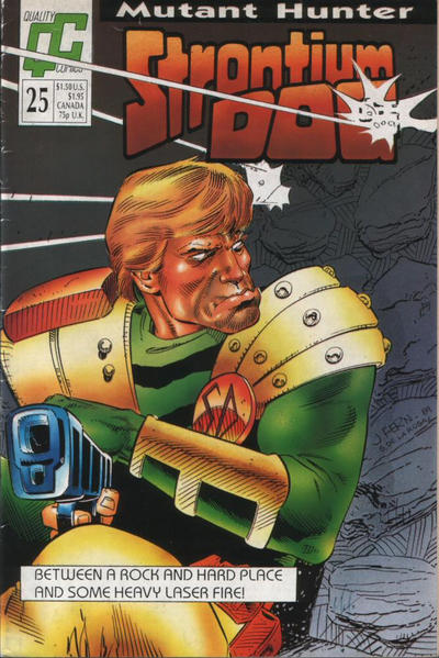 Cover for Strontium Dog (Fleetway/Quality, 1987 series) #25