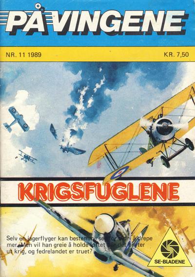 Cover for På Vingene (Serieforlaget / Se-Bladene / Stabenfeldt, 1963 series) #11/1989