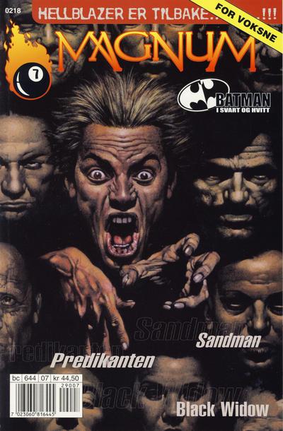 Cover for Magnum [Magma] (Bladkompaniet, 2001 series) #7