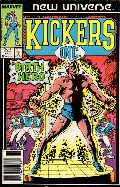 Cover for Kickers, Inc. (Marvel, 1986 series) #1 [Direct]