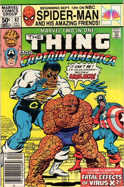 Cover for Marvel Two-in-One (Marvel, 1974 series) #82 [Direct]