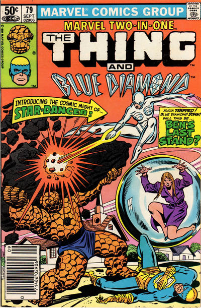 Cover for Marvel Two-in-One (Marvel, 1974 series) #79 [Newsstand]