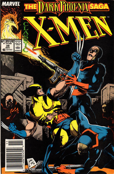 Cover for Classic X-Men (Marvel, 1986 series) #39 [Direct Edition]