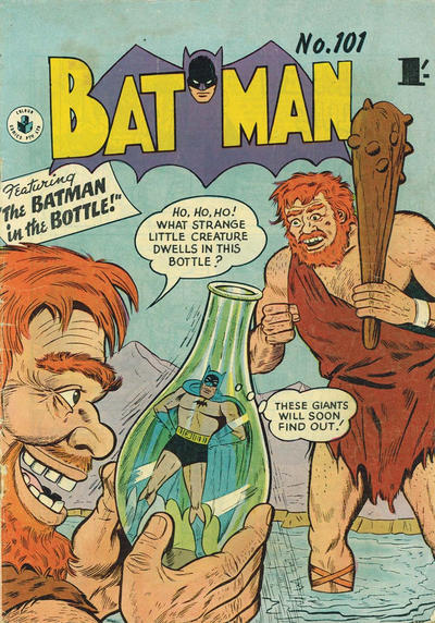 Cover for Batman (K. G. Murray, 1950 series) #101