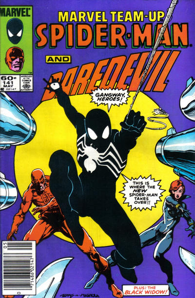 Cover for Marvel Team-Up (Marvel, 1972 series) #141 [Newsstand Edition]