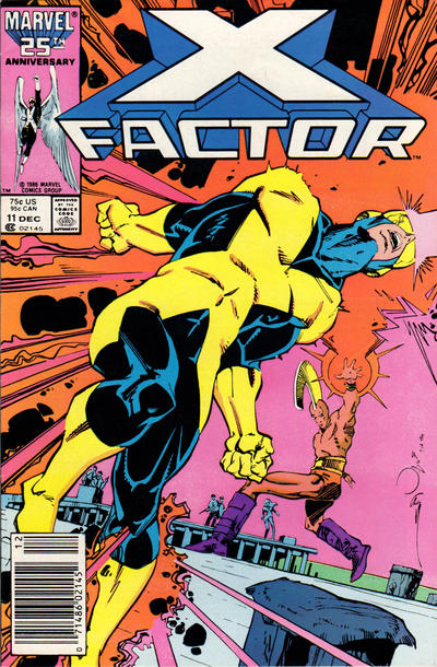 Cover for X-Factor (Marvel, 1986 series) #11 [Direct Edition]