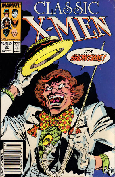 Cover for Classic X-Men (Marvel, 1986 series) #29 [Direct Edition]