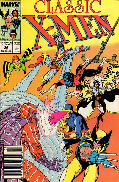 Cover for Classic X-Men (Marvel, 1986 series) #12 [Newsstand Edition]