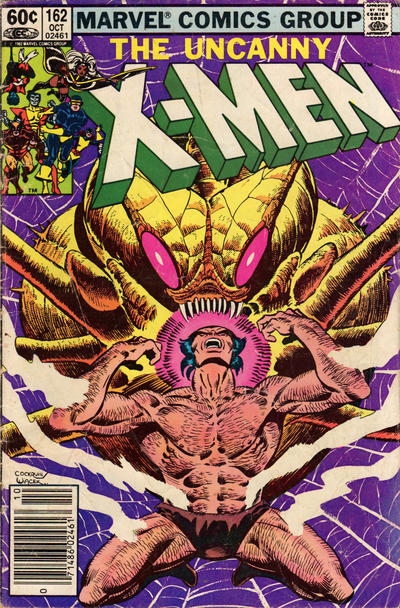 Cover for The Uncanny X-Men (Marvel, 1981 series) #162 [Direct Edition]