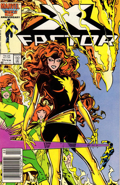 Cover for X-Factor (Marvel, 1986 series) #13 [Direct Edition]