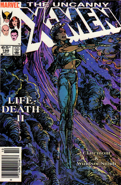 Cover for The Uncanny X-Men (Marvel, 1981 series) #198 [Newsstand]