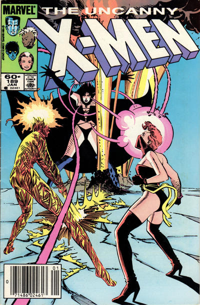 Cover for The Uncanny X-Men (Marvel, 1981 series) #189