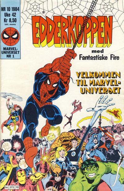 Cover for Edderkoppen (Semic, 1984 series) #10/1984