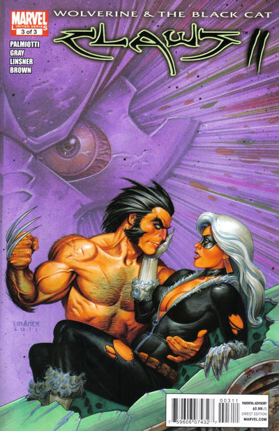 Cover for Wolverine & Black Cat: Claws 2 (Marvel, 2011 series) #3