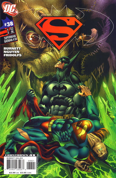 Cover for Superman / Batman (DC, 2003 series) #38 [Nguyen and Fridolfs]