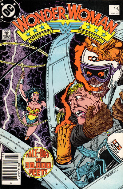 Cover for Wonder Woman (DC, 1987 series) #2 [Direct]