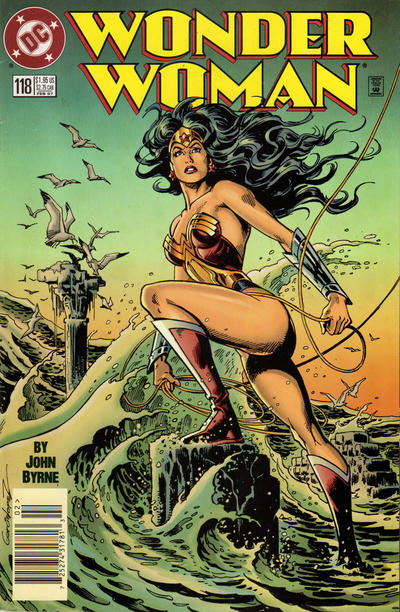 Cover for Wonder Woman (DC, 1987 series) #118 [Newsstand Edition]