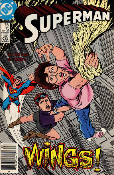 Cover for Superman (DC, 1987 series) #15 [Direct]