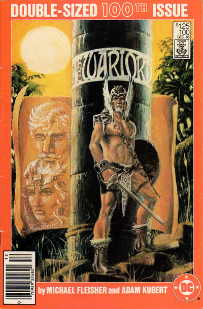 Cover for Warlord (DC, 1976 series) #100